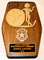 Award Given to James Arness