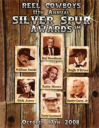 11th Annual Souvenir Program Book from the 2008 Silver Spur Awards Show