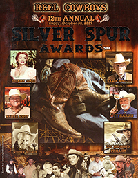 12th Annual Souvenir Program Book from the 2009 Silver Spur Awards Show
