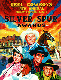 14th Annual Souvenir Program Book from the 2011 Silver Spur Awards Show