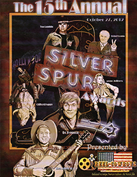 15th Annual Souvenir Program Book from the 2012 Silver Spur Awards Show