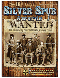16th Annual Souvenir Program Book from the 2013 Silver Spur Awards Show