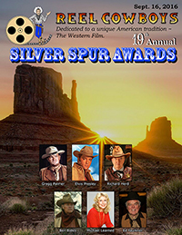 19th Annual Souvenir Program Book from the 2016 Silver Spur Awards Show