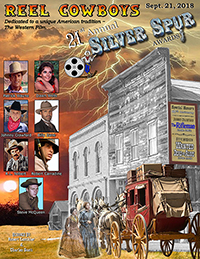 21st Annual Souvenir Program Book from the 2018 Silver Spur Awards Show